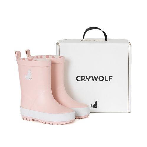 CRYWOLF RAIN BOOT PINK QUARTZ