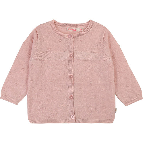BILLIEBLUSH GIRLS PINK CARDIGAN