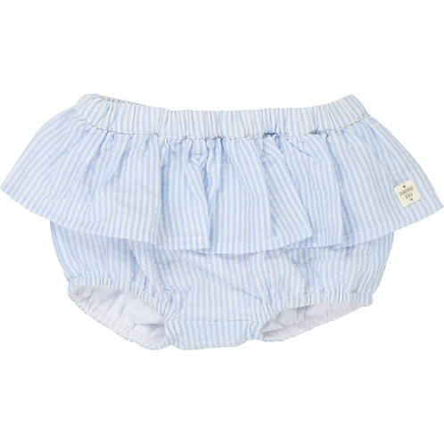 CARREMENT BEAU GIRLS BLUE AND WHITE STRIPPED BLOOMERS