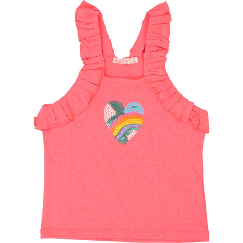 BILLIEBLUSH GIRLS NEON PINK TOP