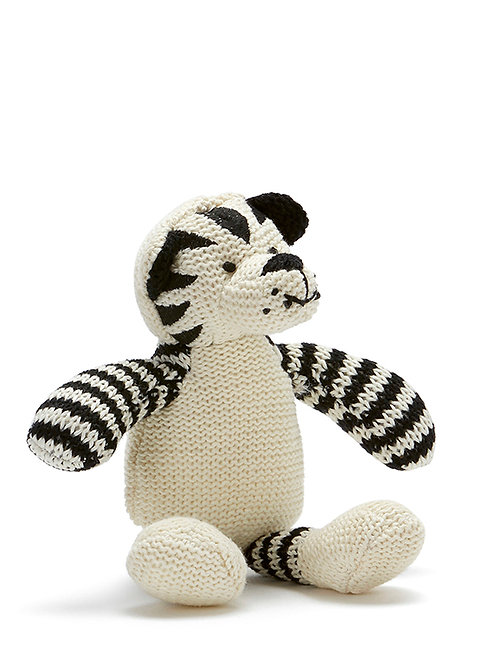 TOMMY THE TIGER BABY RATTLE