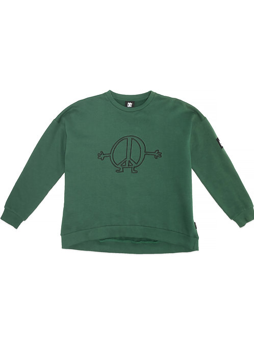 BAND OF BOYS PEACE MAN OVERSIZED CREW