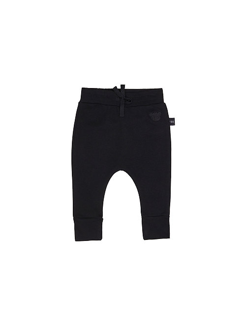 HUXBABY DROP CROTCH FLEECE PANT