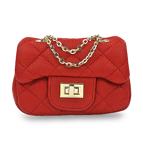 AVA MINI BAG RED