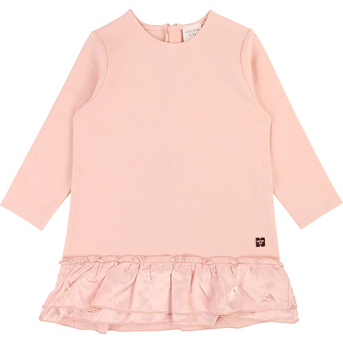 CARREMENT BEAU GIRLS PINK DRESS