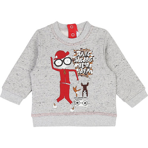 LMJ BOYS PRINTED JUMPER