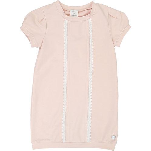 CARREMENT BEAU GIRLS PINK SWEATER DRESS