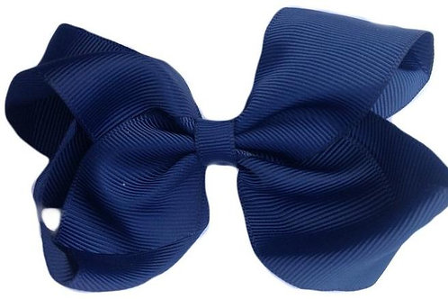 SISTER BOWS NAVY BLUE BOW