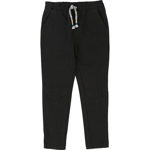 BILLYBANDIT BOYS BLACK CHINO PANTS