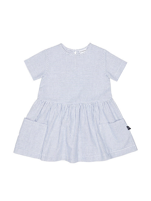 HUX GIRLS STRIPE DARCY DRESS