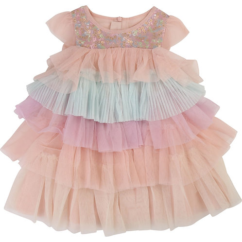 BILLIEBLUSH COLOURED TULLE DRESS