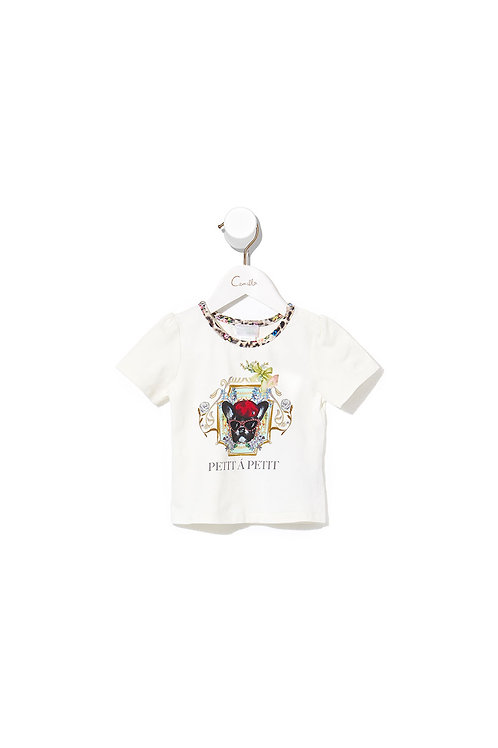 CAMILLA BABIES SHORT SLEEVE TEE OH CECILE