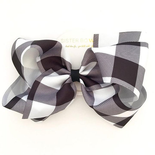 SISTERBOWS LARGE GINGHAM BOW