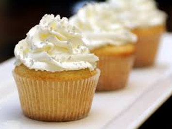 Vanilla cupcake - bite size