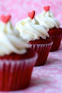 Red Velvet cupcake - bite size