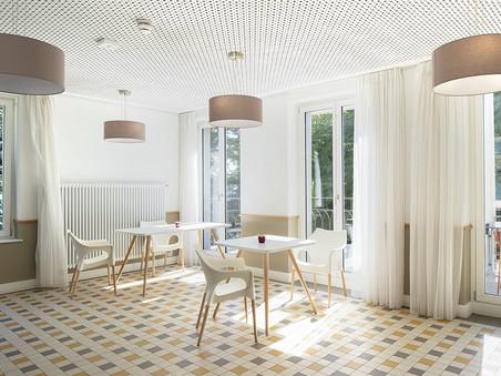 Des fenêtres bois pour l'EMS La Rochelle