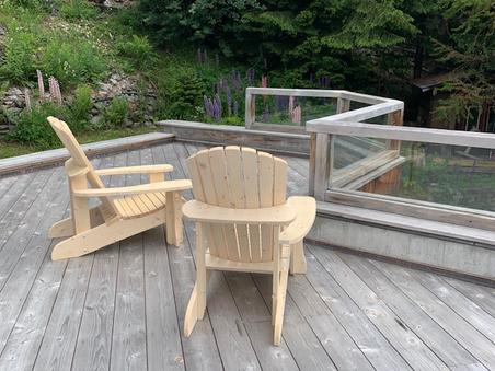 Les chaises Adirondack sont de retour !