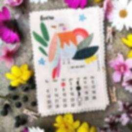 Este es mi pajarito para el calendario d