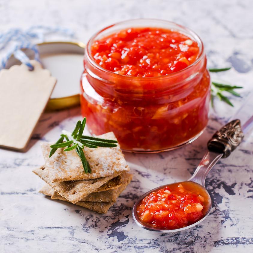 Making Salsas-Fruit Salsa & Corn (Relish) Salsa (1)