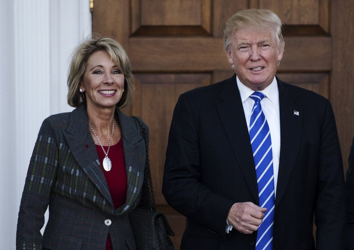 Secretary DeVos Accepts President Trump's Q2 Salary as a Donation for STEM-Focused Camp