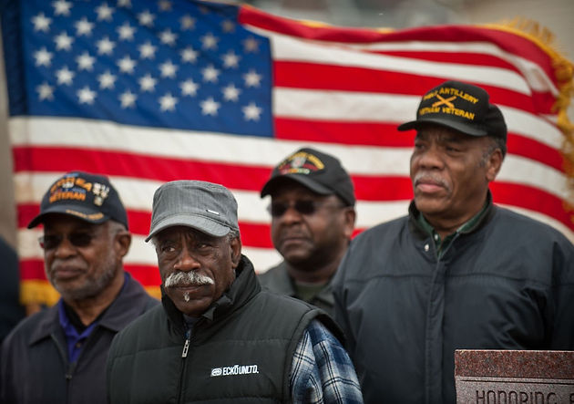 lack of government support for veterans