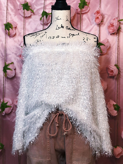 Plus Size Crystal Sweater