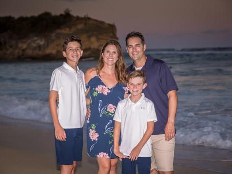 Poipu, Kauai  Family Photo Session