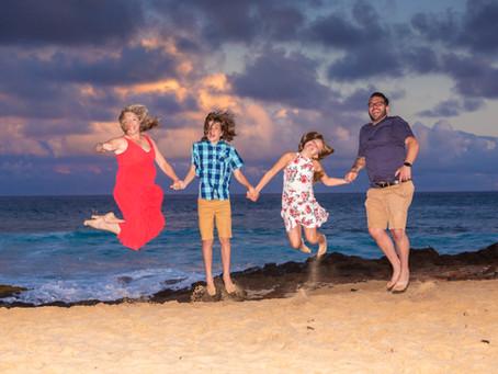 Shipwreck Beach Sunset Session In Poipu, Kauai