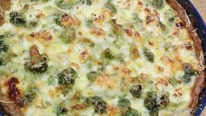Ravistamo kokkaa: parsakaali-fetapiirakka