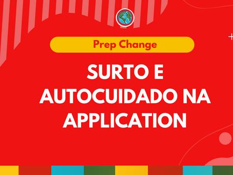 Surto e Autocuidado na application