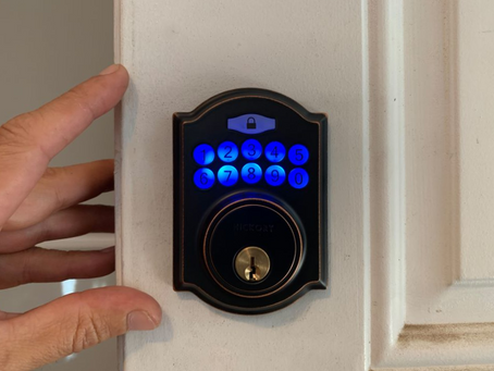 Upgrade to an Electronic Keypad Deadbolt