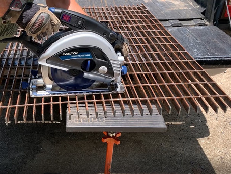 Cutting Metal with Evolution Power Tools