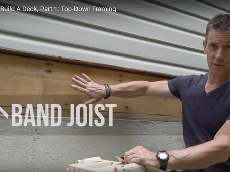 Top Down Deck Framing with MyFixItUpLife