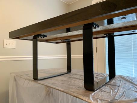 Metal Legs for Rustic Furniture