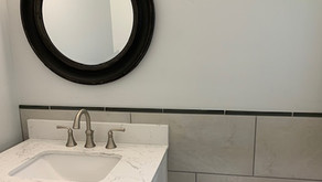 Install Glass Tile as a Decorative Border
