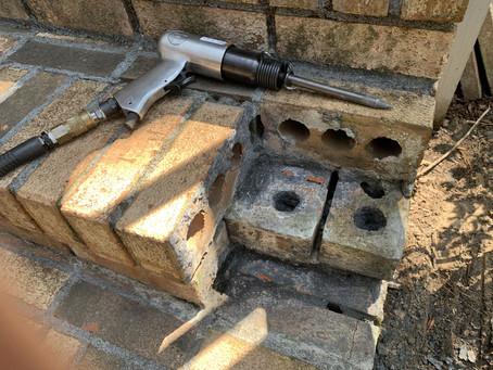 How to Repair Brick Steps, Step by Step