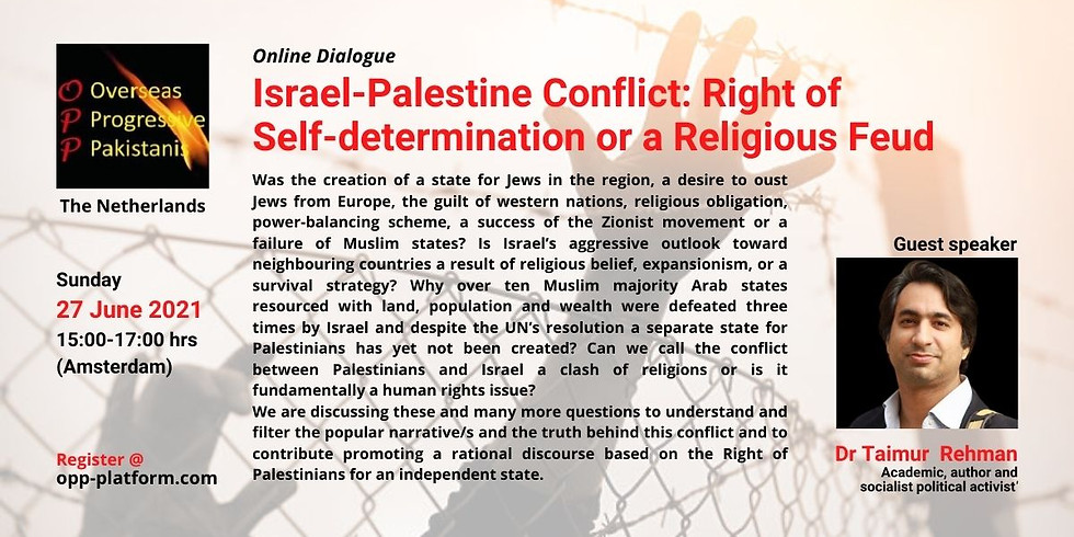 Israel-Palestine Conflict: Right of Self-determination or a Religious Feud