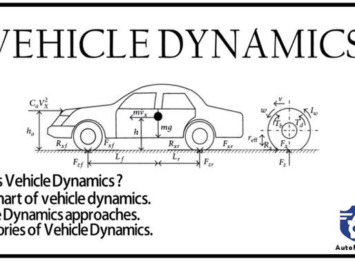 Understanding Vehicle Dynamics