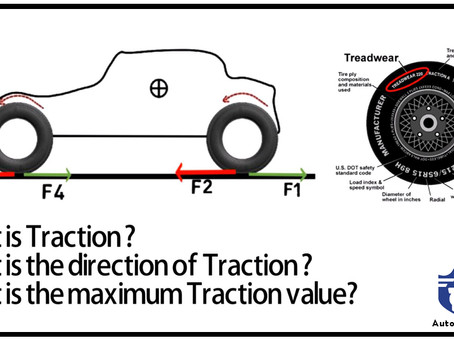 What is Traction,it's direction & maximum value ?