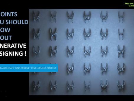 Generative Designing,Future of making things !
