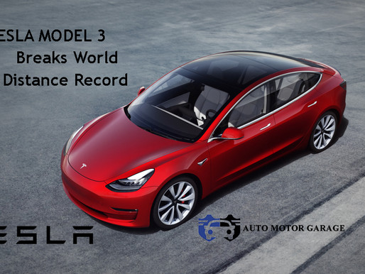 Tesla Model 3 Breaks World EV Distance Record !