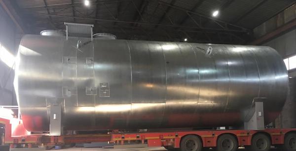 Резервуар горизонтальный стальной (ПКФ