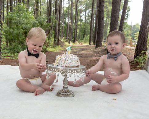 Twin Birthday Boys