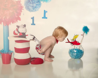 Cat in the Hat Baby Portraits