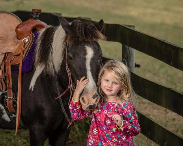 My horse and me Children Portraits