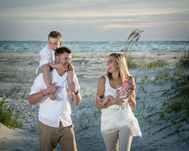 Family Beach Candids