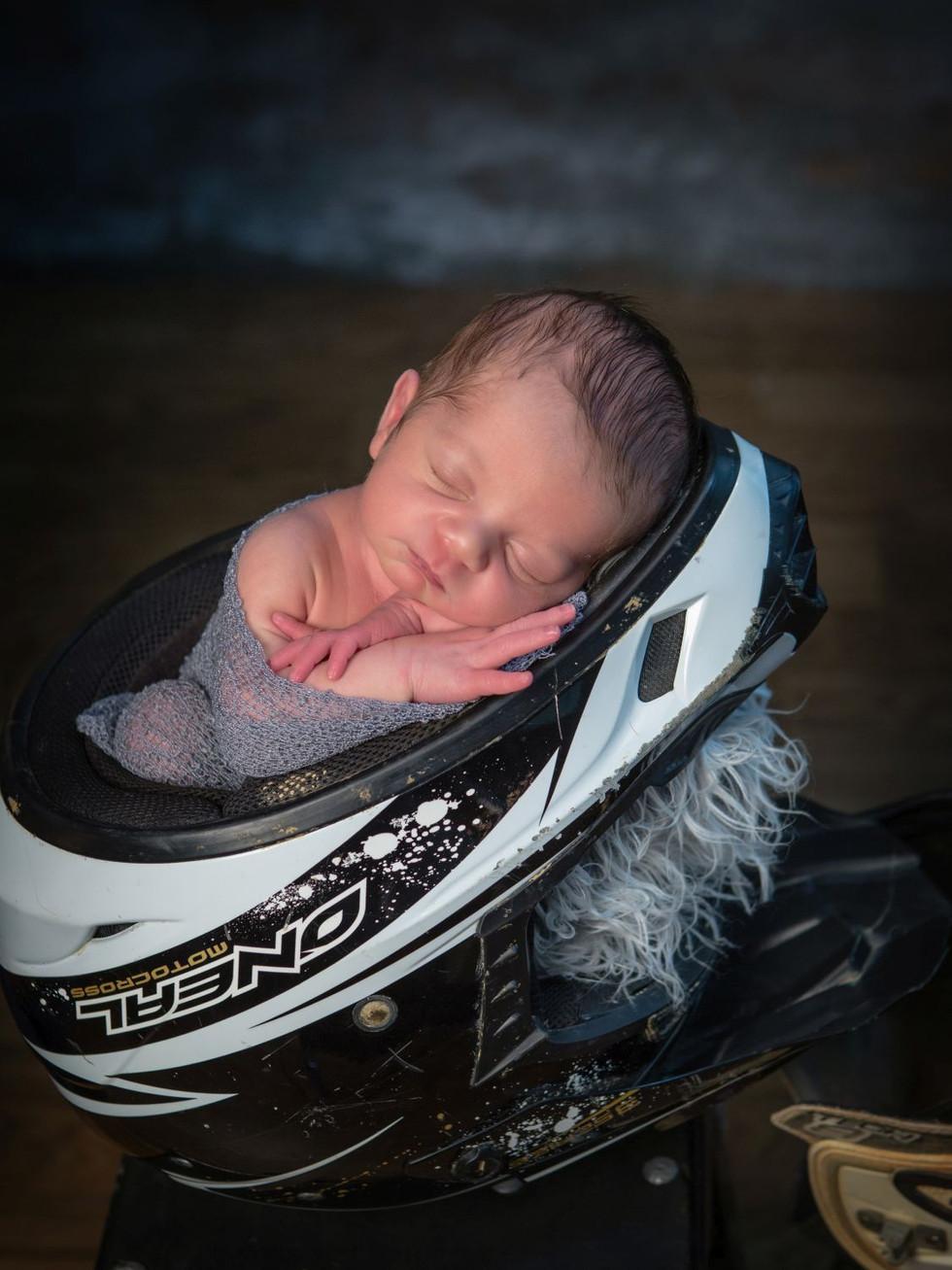 Motorcross Newborn