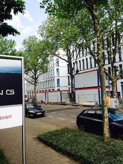 Bürogebäude SILIZIUM I+II, Schiessstrasse, Düsseldorf