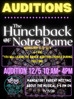 The Hunchback of Notre Dame Audition Information