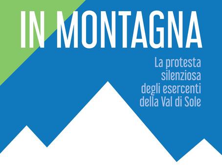 """La protesta silenziosa delle botteghe storiche della Val di Sole """"R-Esistiamo in Montagna"""""""